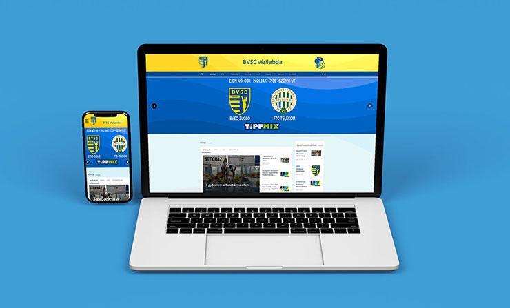 BVSC Vizilabda Klub weboldal