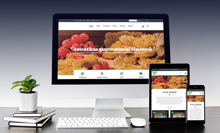 Olasztészta webshop